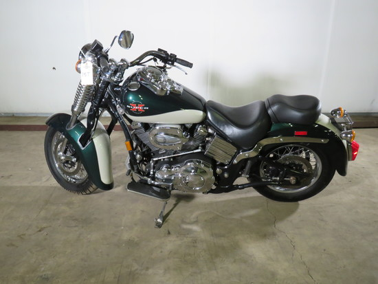 1999 Excelsior Henderson Super X Motorcycle