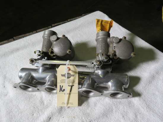 Rare Riley Intake with Riley Dual Carbs for Speed Equipment