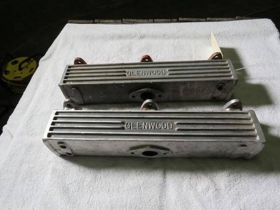 Glenwood Aluminum Marine Manifolds Ford Flathead V8