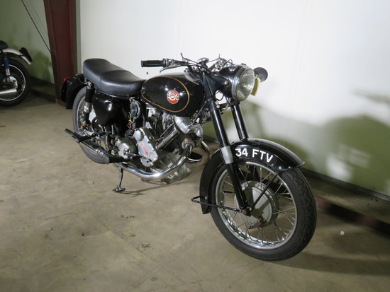1959 Panther Model 120 Motorcycle