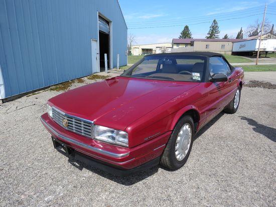 1992 Cadillac Allanti Farina Convertible