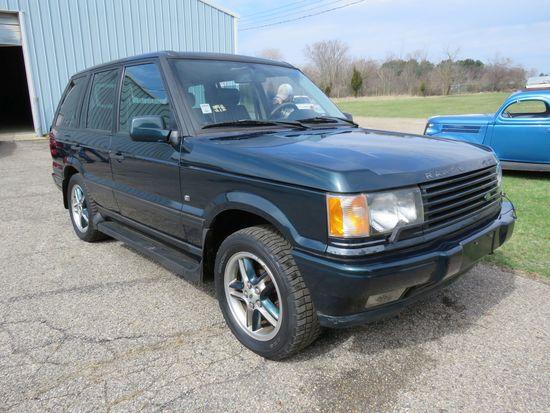 2000 Land Rover SUV