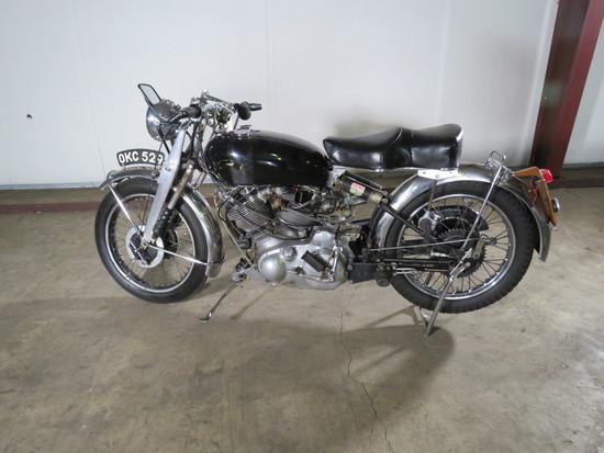 1952 Rare Vincent Series C Rapide Motorcycle