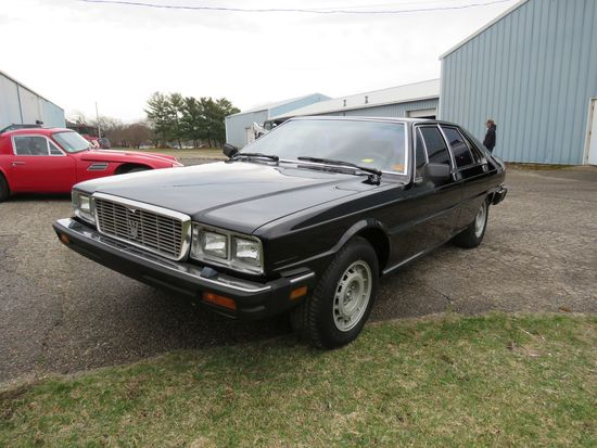 1982 Maserati 4dr Sedan