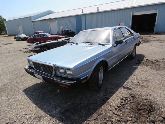 1980 Maserati 4 Porte 4dr Sedan