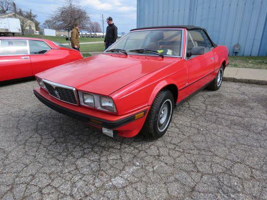 1986 Maserati Zagoto Convertible