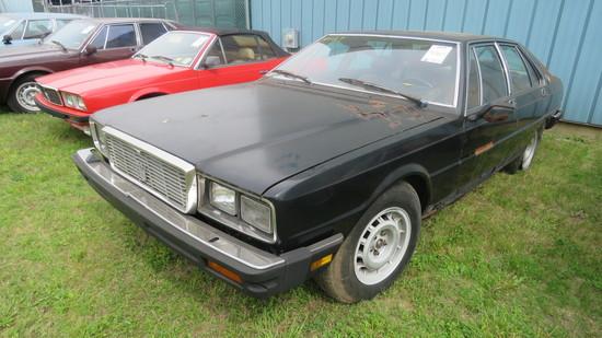 1984 Maserati 4dr Sedan