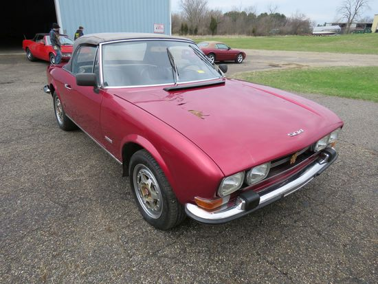 1972 Peugeot 504 Fuel Injected Convertible