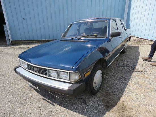1982 Peugeot 604 Turbo Diesel 4dr Sedan