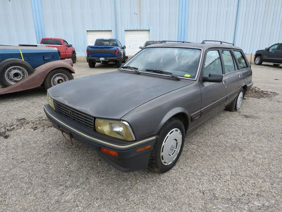 1989 Peugeot 604 turbo Diesel Wagon