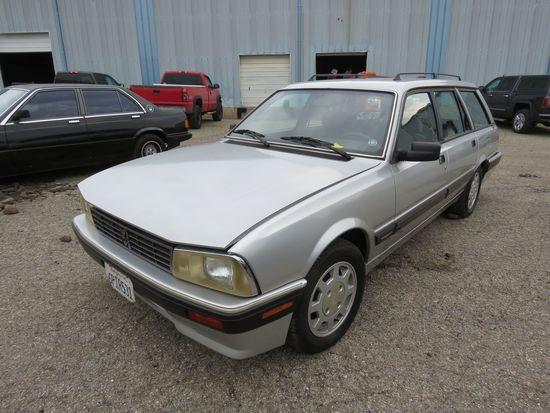 1989 Peugeot 4dr 505 Wagon