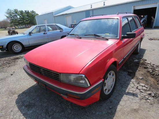 1991 Peugeot 4dr Wagon