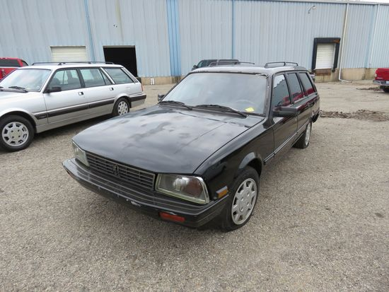 1988 Peugeot 4dr Wagon
