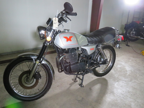 Rare 1988 Matchless G80 Rotax Power Motorcycle