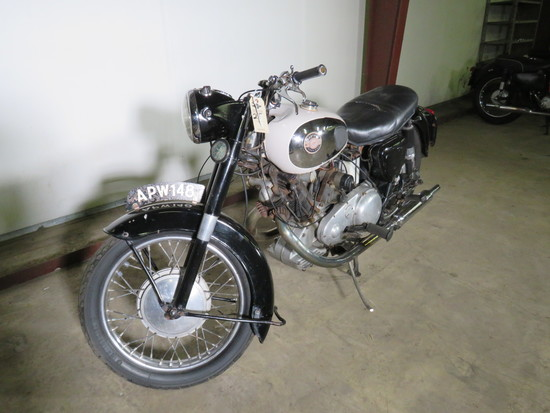 1960 Panther Model 120 Motorcycle