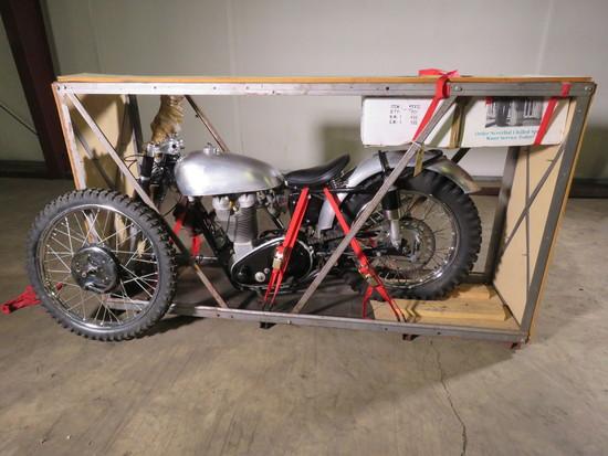 1951 AJ Stevens MS Motorcycle