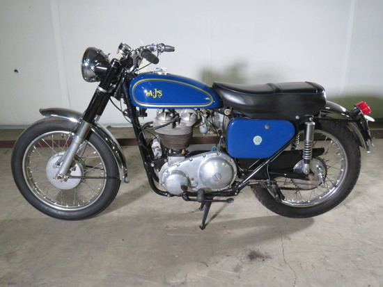 1961 AJ Stevens Motorcycle