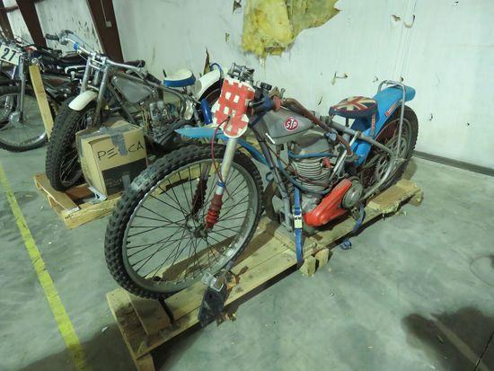 JAWA Speedway Racer Motorcycle