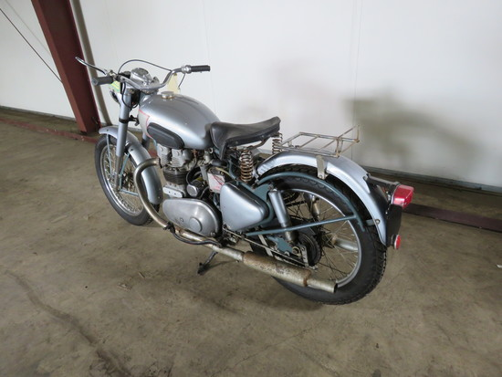 1954 Royal Enfield 500 Twin Motorcycle