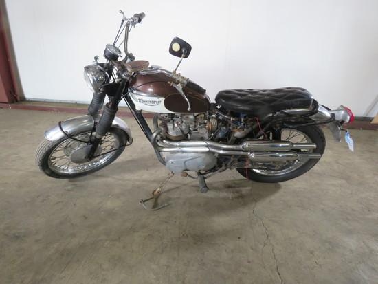 1967 Triumph TR6C Motorcycle