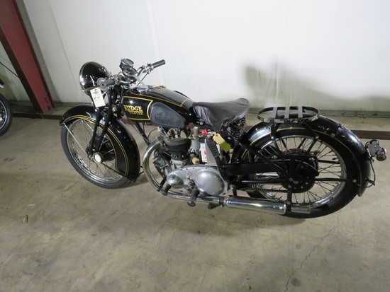 1933 Rudge Ulster Prewar Road Race Motorcycle