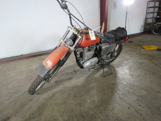 1968 BSA B44 Victor Special Motorcycle