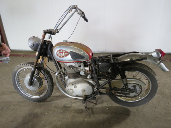 1968 BSA Lightning Motorcycle