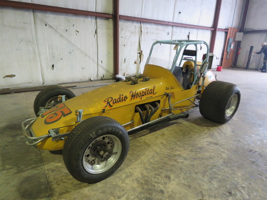 1972 fuel Injected Midget Race Car