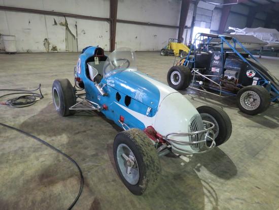 Vintage Kurtis Kraft Midget Racecar