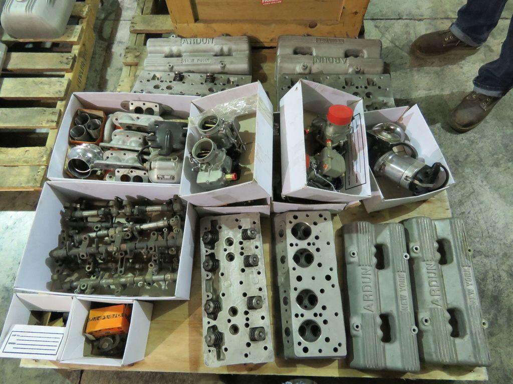 2 Flathead V8 Rblt with Ardun Heads selling as unit