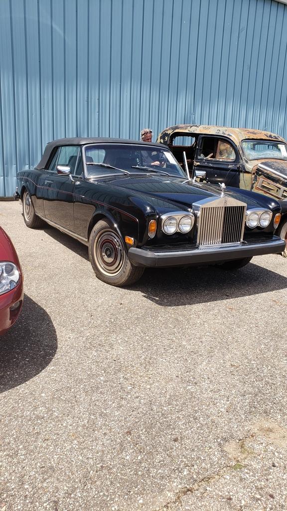 1980 Rolls Royce Corniche II Convertible
