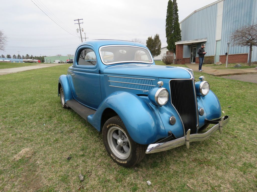 Rare 1936 Ford 3 Window Coupe