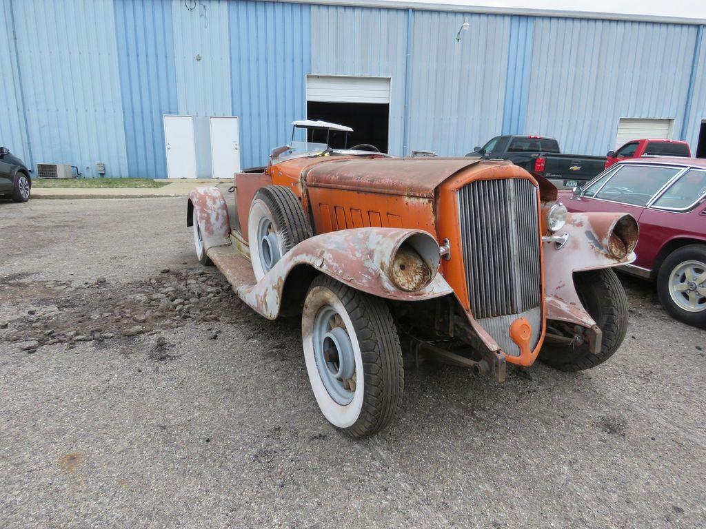1933 Pierce Arrow Roadster Project