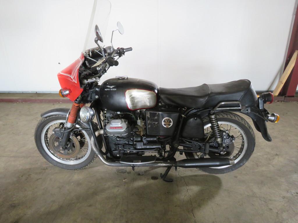 1969 Moto Guzzi Motorcycle