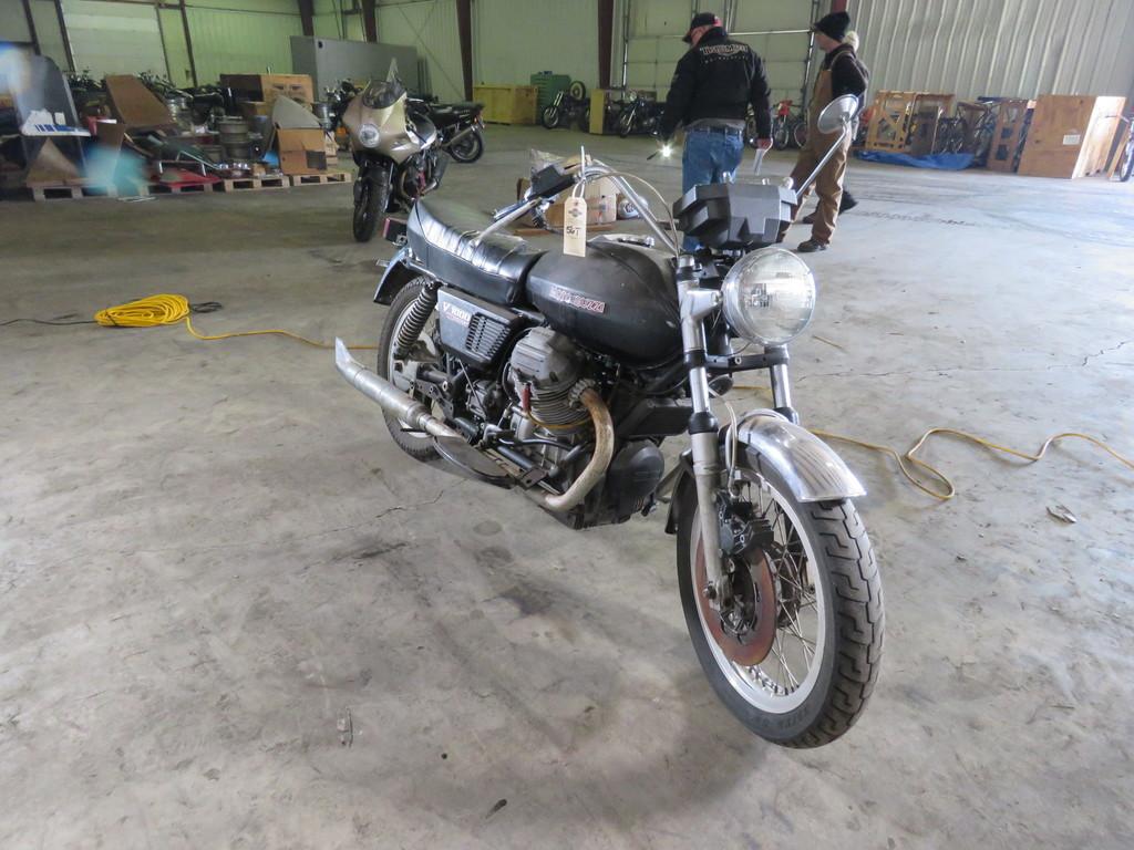 1976 Moto Guzzi V1000 Convert Motorcycle