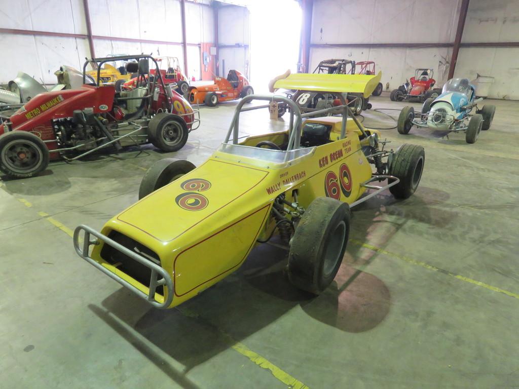 RARE Ken Brenn rear Engine 110 Beattie Midget Race Car
