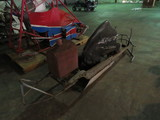 Vintage Rail Frame Midget Race Car