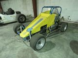 Vintage Edmunds style midget race car