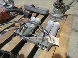 Vintage Aluminum Intake 4 cylinder with velocity stacks