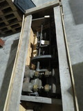 Vintage Steam Engine in Crate