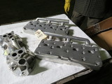 Offenhauser Aluminum Heads and Intake