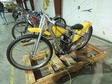 JAP Speedway Racer Motorcycle