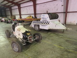 Rare 1947 Kurtis Kraft-Chimnery Midget Racecar and Trailer