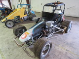 Vintage Edmunds Midget Race Car