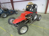 Vintage 1970's Midget Race Car