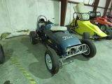 Vintage Homebuilt Midget Race Car