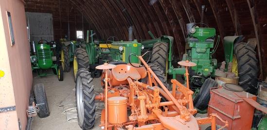 Antique Tractors, Jim Beam Decanters & More