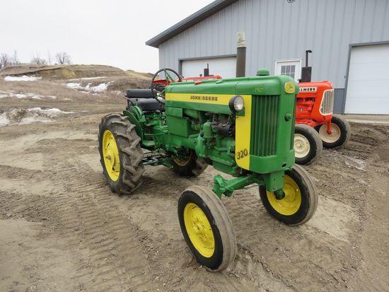 1957 John Deere 320 Tractor