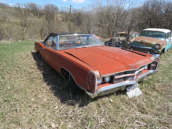 1969 Ford Convertible for Project and Parts