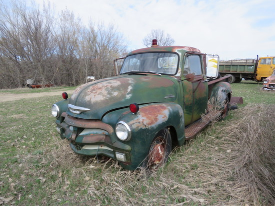 1954 Chevrolet Step side Pickup J54J028177
